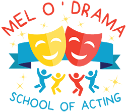 Mel O Drama Kids logo
