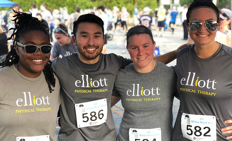 Elliott Physical Therapy, road race runners