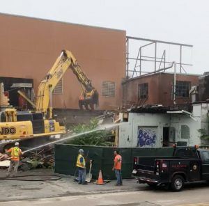 Hendries demolition begins August 13th. Photo courtesy Beth Murphy.