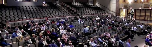 Discussion during Town Meeting 2018, prior to article 16
