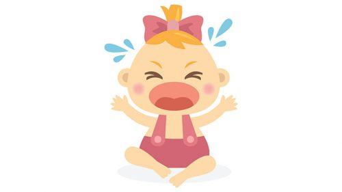 crying baby from Stock Unlimited