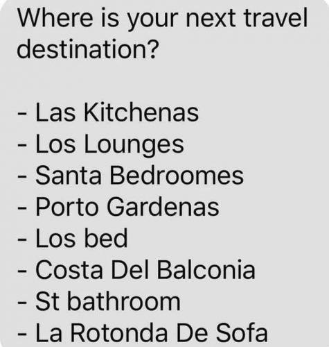 funny travel meme
