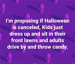 halloween proposal